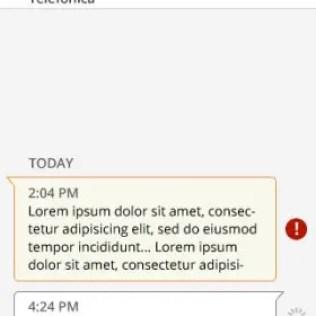 Firefox OS SMS App
