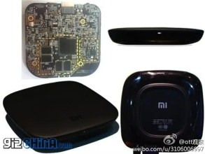 Xiaomi TV: leaked photos and screenshots of Xiaomi Android set top box
