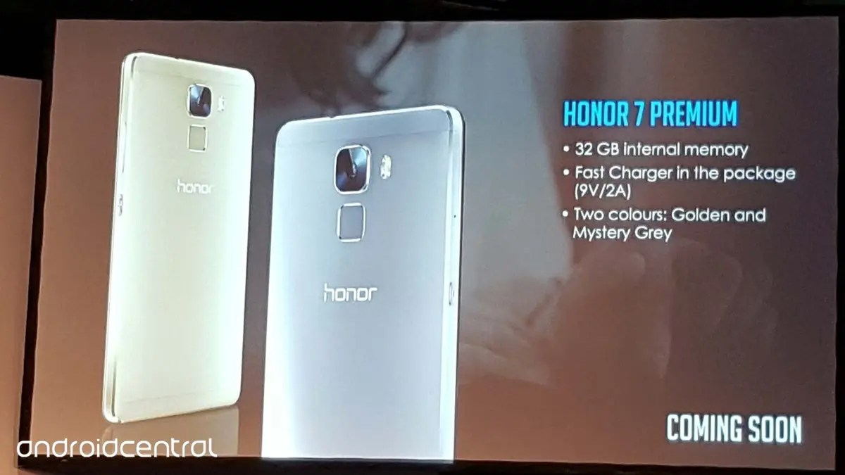 Europe gets a Premium Edition of the Huawei Honor 7