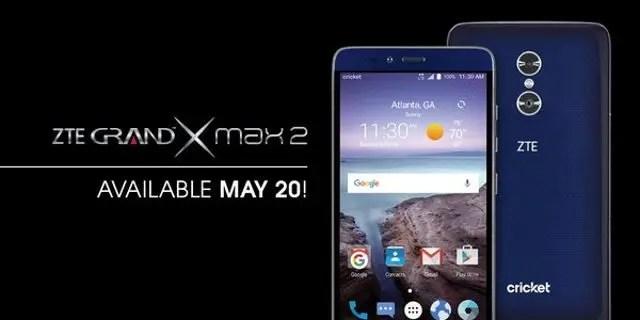 U.S gets dual camera ZTE Grand Max 2 for $200