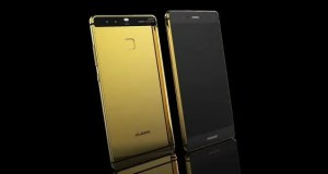 huawei P9 gold plated