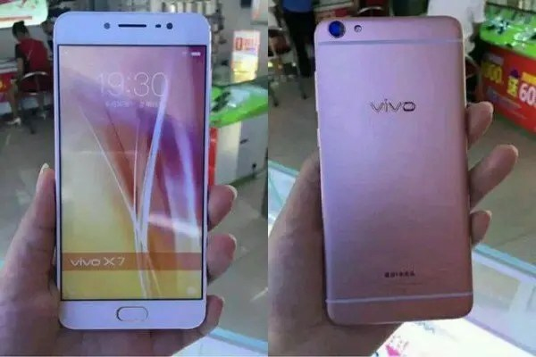 Vivo X7 retail mock up leaks ahead of launch