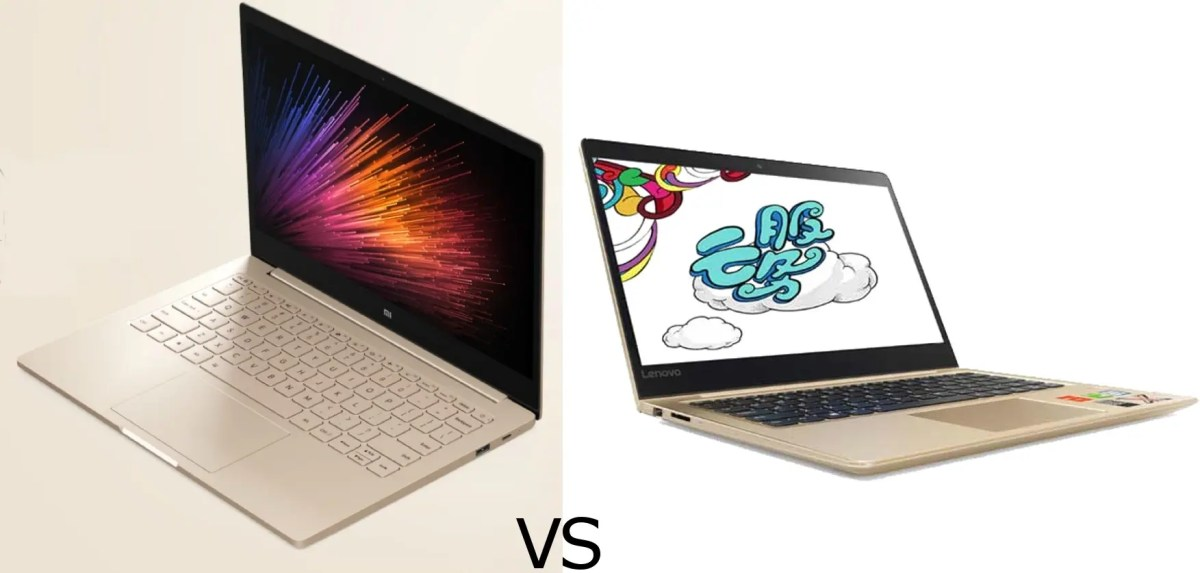 #ChineseLaptopWars: Xiaomi Mi Notebook Air vs Lenovo Air 13 Pro
