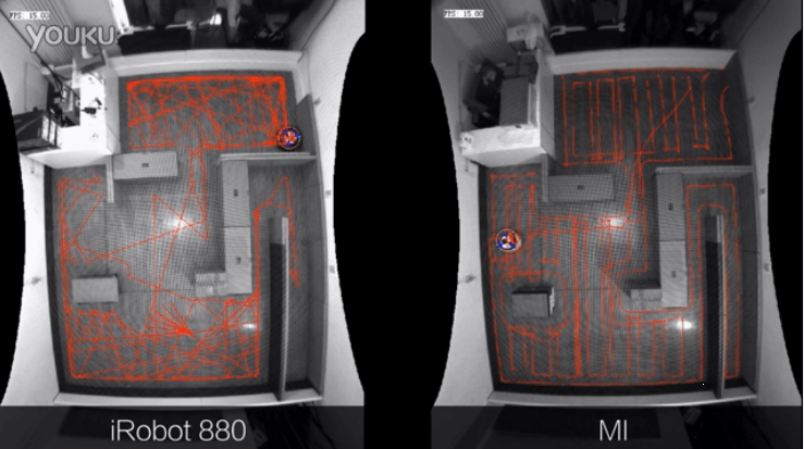 Mi Robot vacuum cleaner is real, here's a video of it competing