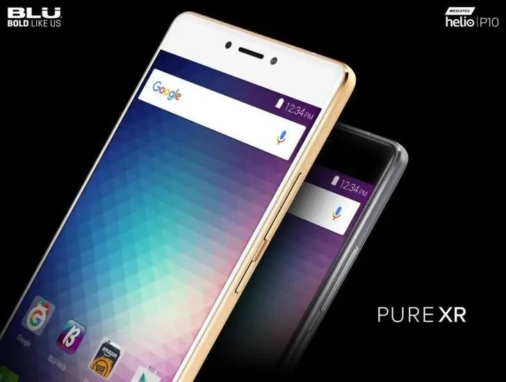 BLU officially announces the Pure XR