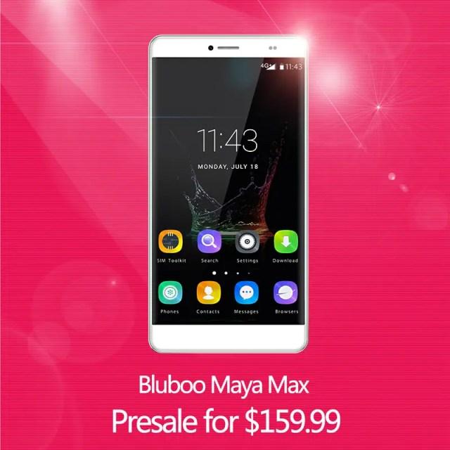 Blubo Maya Max duży telefon w niskiej cenie