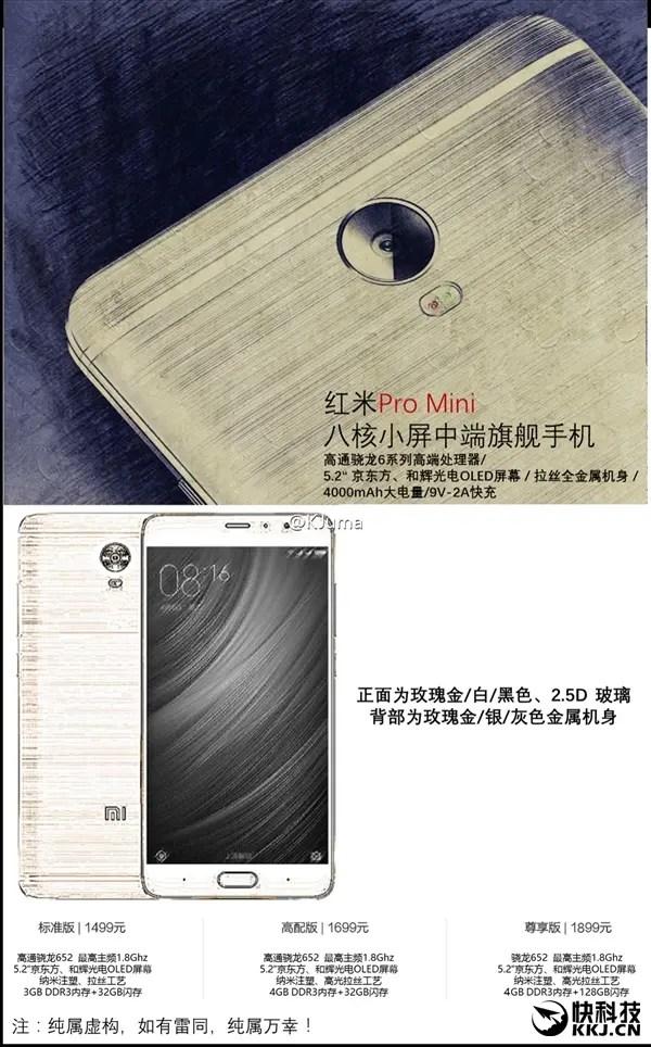 Xiaomi Redmi Pro mini cena