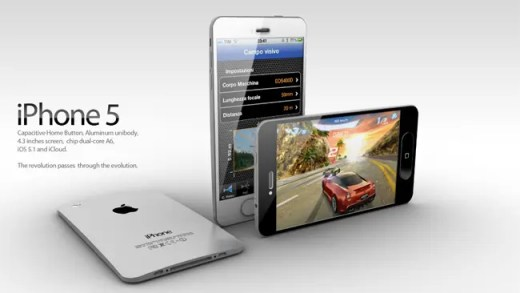new iphone 5 white design