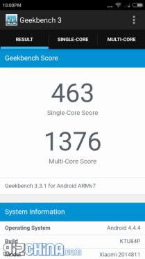 Antutu Xiaomi Redmi 2