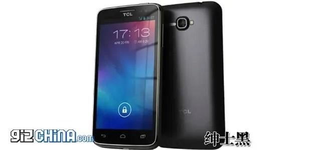 TCL S810 is a fingerprint-proof splash-proof outdoors friendly phone
