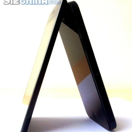 Umeox X5 Vs iPhone5 (1)