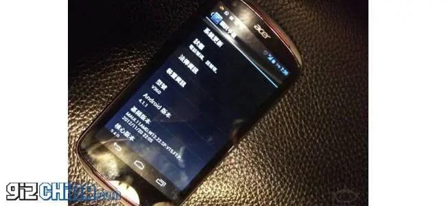 acer v360 cloudphone leaked photos