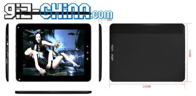 8.6mm 3G Android Tablet Goes on Sale Looks Like Xoom iPad Mash up