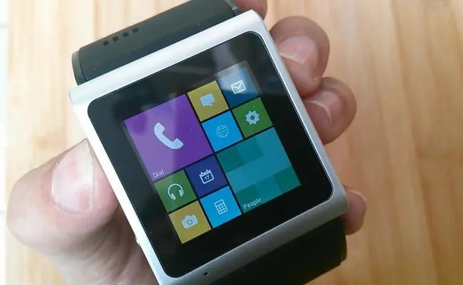 goophone smartwatch video