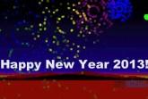 happy new year 2013 pixel art