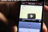 how to get siri dictation iphone 3GS,iphone 4 and ipod