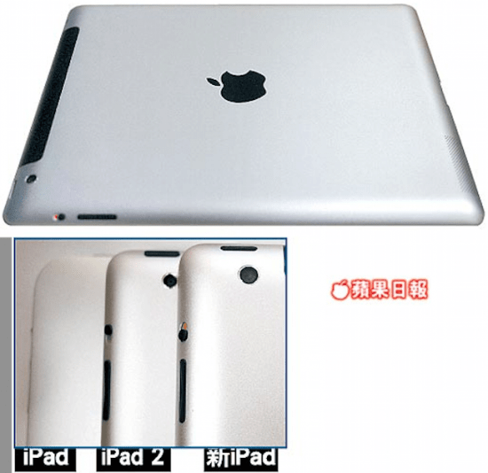 ipad 3 550x534 10 Things we know about the iPad 3 (sort of)