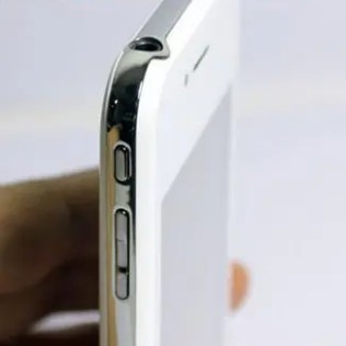 A nice smooth iPhone 5 body hides cheap internals