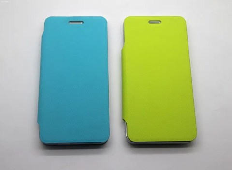 jiayu g4 flip covers green and blue