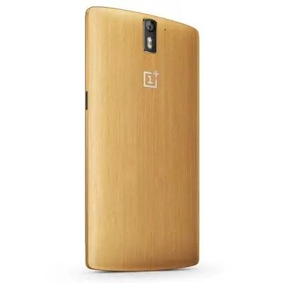 OnePlus One edição limitada de bambu é lançado na China 1