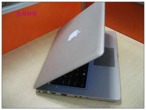 macbook pro clone OSX apple logo 300x226 MacBook Pro Clone Gets OSX Upgrade!