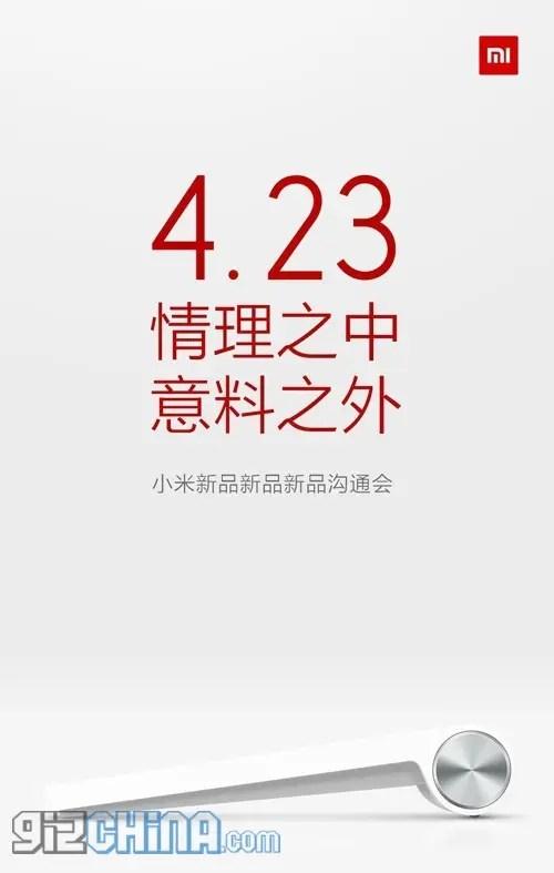 mystery xiaomi april 23