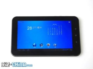 nufront dual core 7 inch chinese tablet
