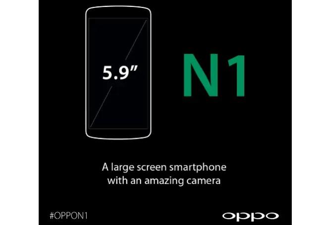 oppo n1 screen