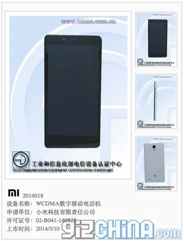 snapdragon hongmi 2 spec 5.5 inch Xiaomi Hongmi 2 receives network license, available in both Qualcomm and Mediatek flavours