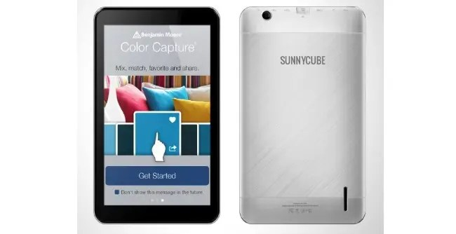 sunnycube v7 android tablet