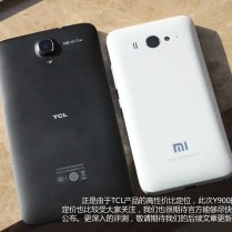 TCL Y900 compared to M2