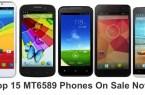 top 15 mt6589 phones