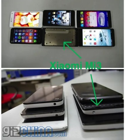 xiaomi mi3 leaked 1 Xiaomi Mi3 leaked photos, complete specification and release date!