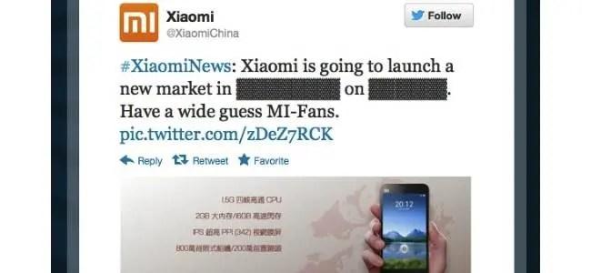xiaomi teases possible hong kong launch