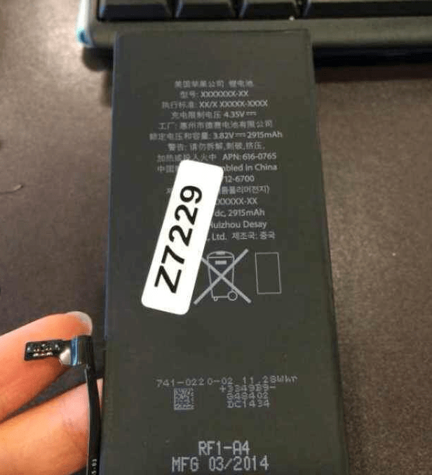 iphone 6l battery