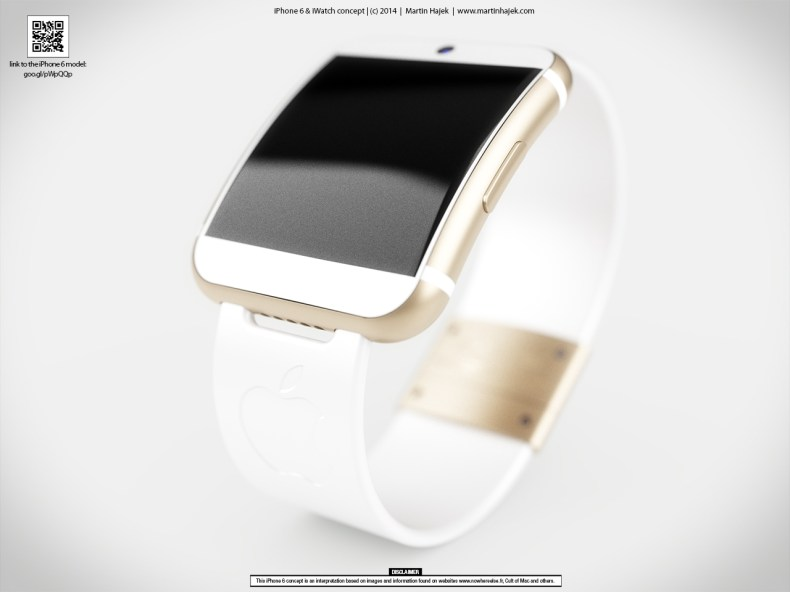 iwatch flexible display