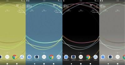 Download Xperia Loops Live Wallpaper from Xperia XZ Premium