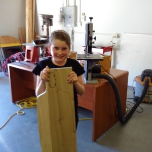 Creating a Skateboard from just a piece of wood!