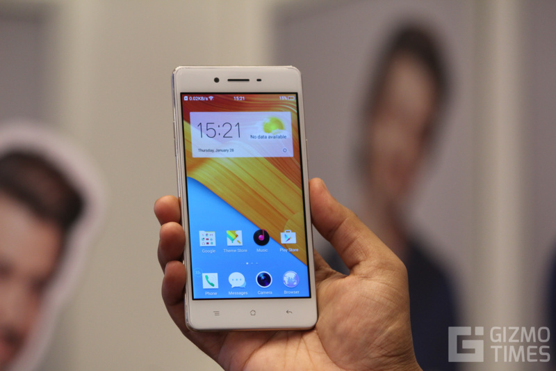 Oppo F1 Hands-on 1
