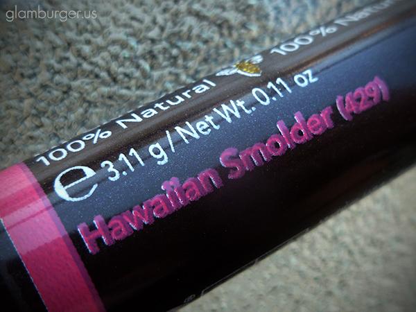 Burt's Bees Lip Crayon Hawaiian Smolder