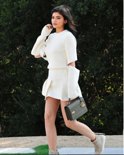 Kylie Jenner spotted with Henri bender's West 57th Schoolbag