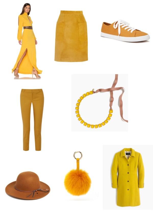Mustard Fashion Board