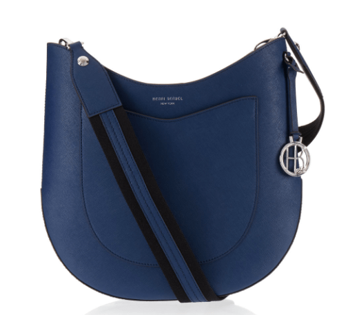 West 57th Crossbody Hobo in blue
