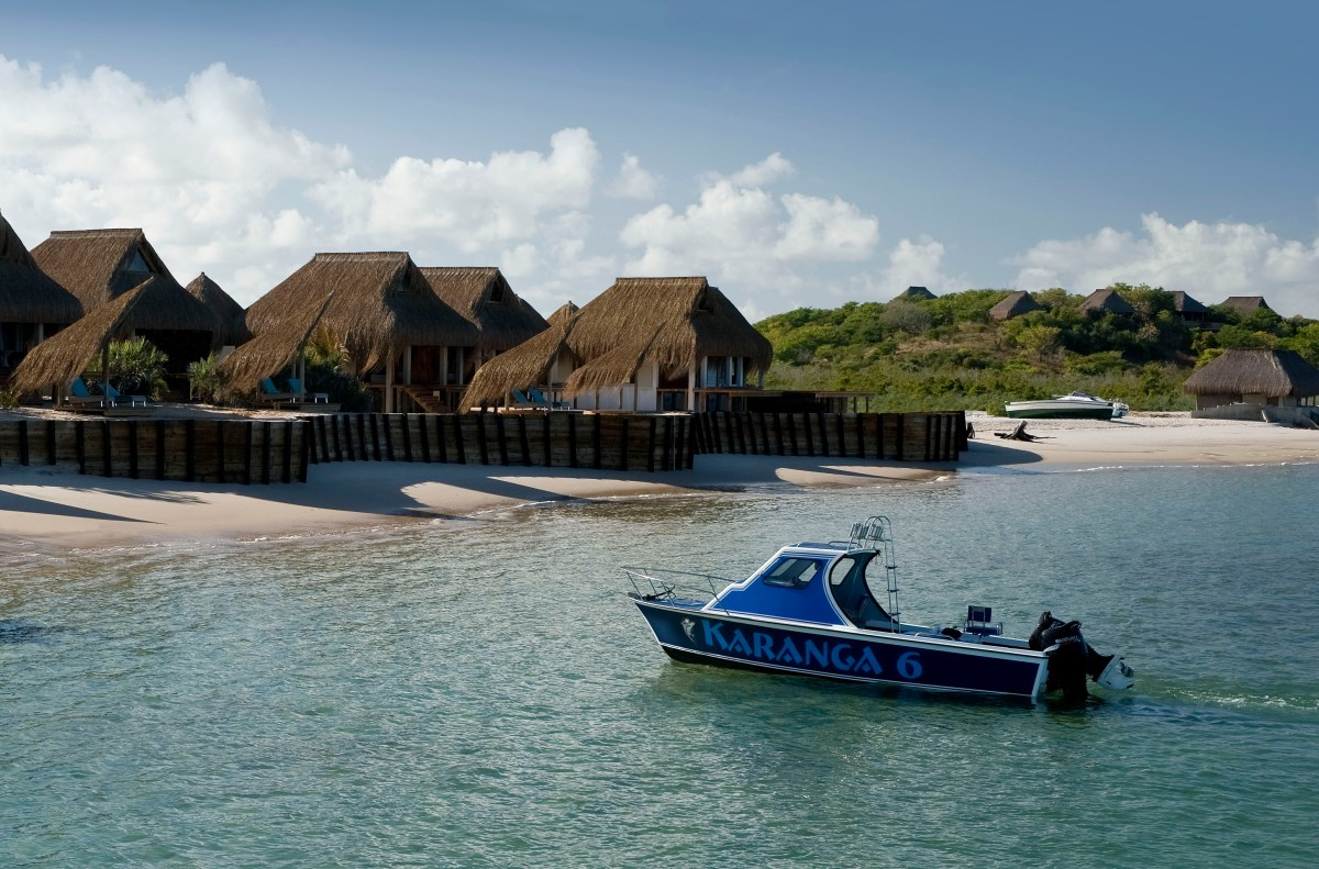 How Do You Go Beach Glamping? I'll Take Mine with a Thatched Roof