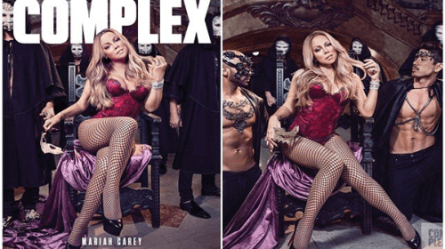 Photos: Mariah Carey Is Sexy For Complex Magazine