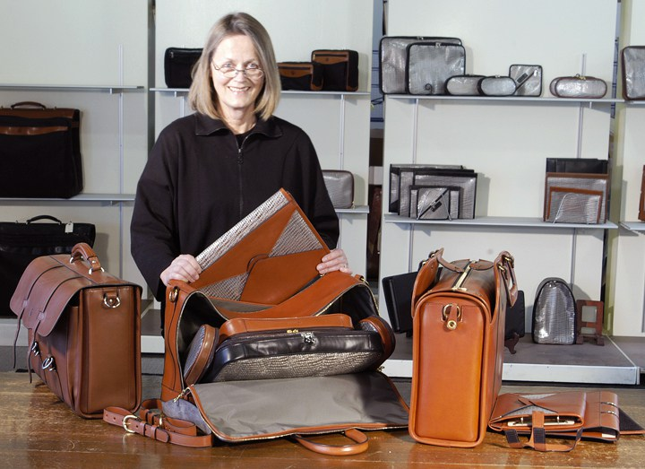 Glaser Designs Showroom of Custom Leather Bags & Folios
