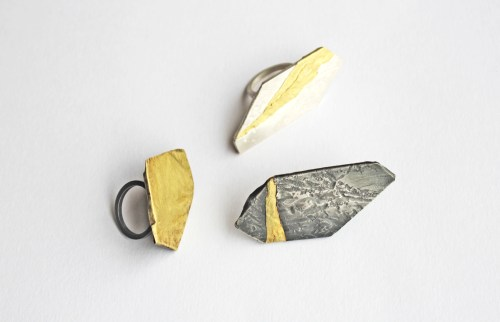 RhonaMcCallum_NeolithsRings_2014_Sterlingsilver,18ctyellowgold