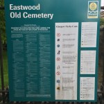 Eastwood Old Cemetery Rule Sign