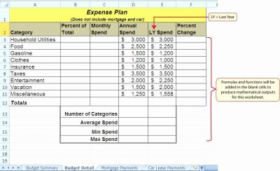 Lease Amortization Schedule Excel Template - Glendale Community Document Template