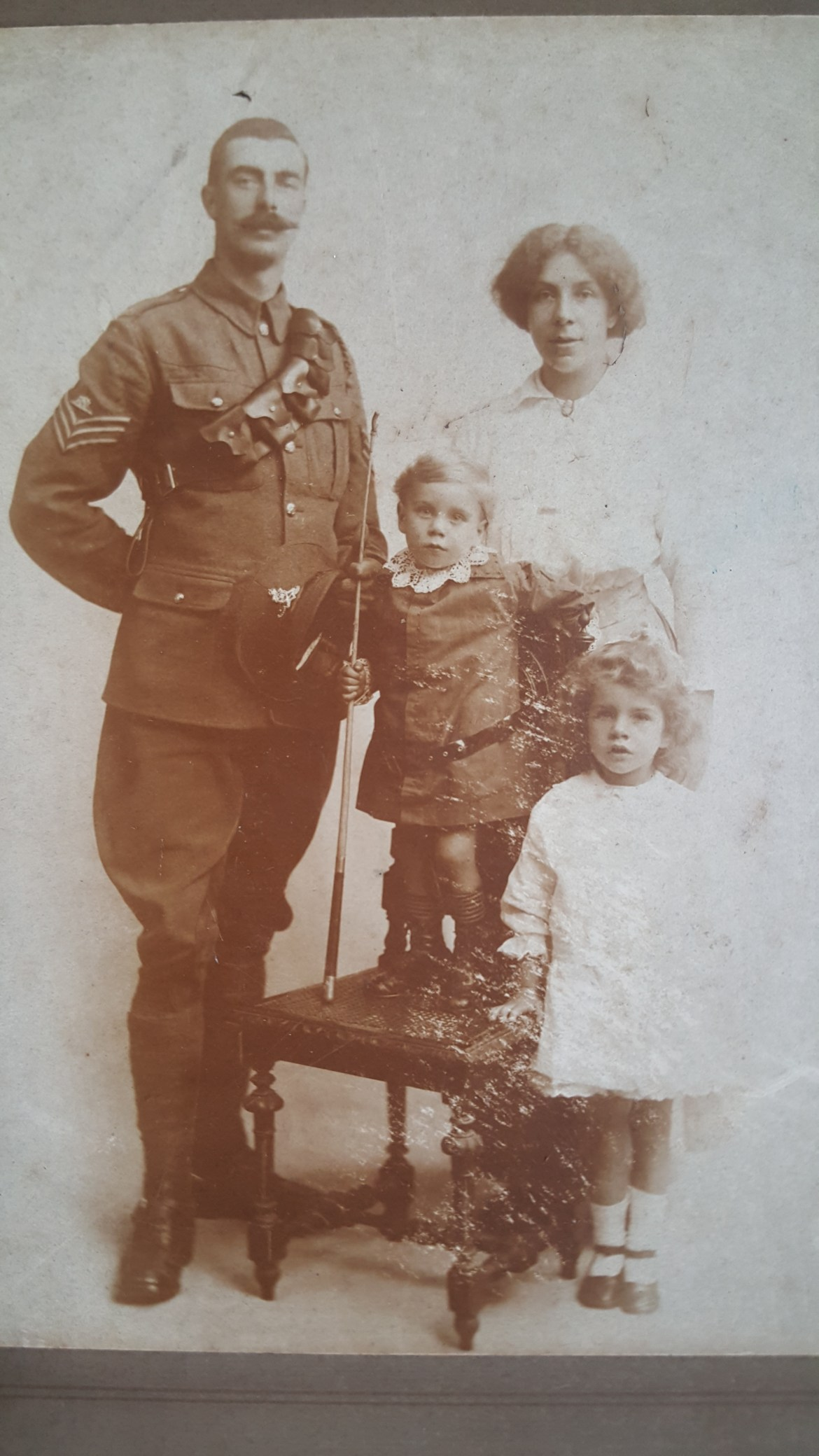 Charles and Family c1915